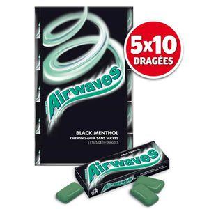 CHEWING-GUM Airwaves Black Menthol