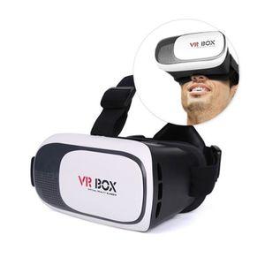 CASQUE RÉALITÉ VIRTUELLE Casque de réalité virtuelle 3D VR Box pour iPhone