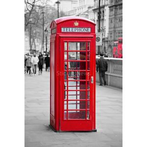 Posters cabines telephoniques achat vente posters cabines telephoniques p - Lampe cabine telephonique anglaise ...