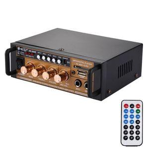 AMPLIFICATEUR HIFI Amplificateur HiFi Audio 180 W + 180 W Lecteur Num