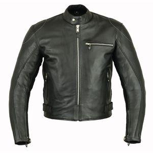 BLOUSON - VESTE blouson cuir moto