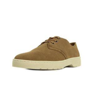 DERBY Chaussures Dr Martens Coronado Hi Suede Wp Tan