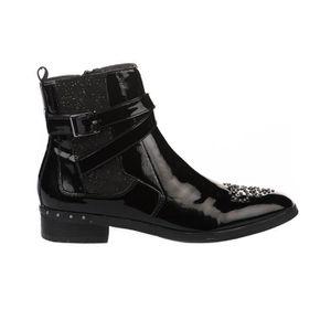 DERBY Boots femme - MAM'ZELLE - Noir verni - 37