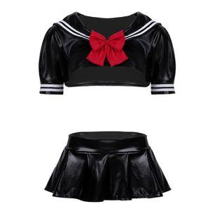 DÉGUISEMENT - PANOPLIE Femme Déguisement Costume Uniforme Scolaire School