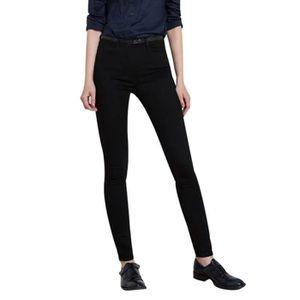b50ae972b991b JEANS Femmes Jeans Denim Femme taille haute force élasti