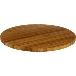 plateau de table rond 60 cm achat vente plateau de table rond 60 cm pas cher cdiscount. Black Bedroom Furniture Sets. Home Design Ideas