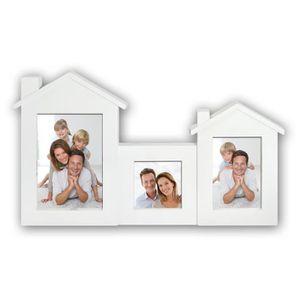 PÊLE-MÊLE PHOTO Cadre Photo Multivues Maison