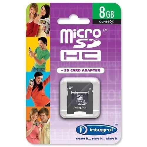 INTEGRAL Carte Micro SDHC 8 Go