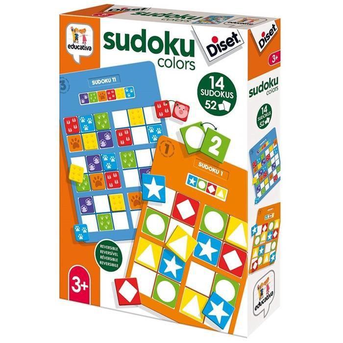 DISET - Sudoku, le jeu pour enfants