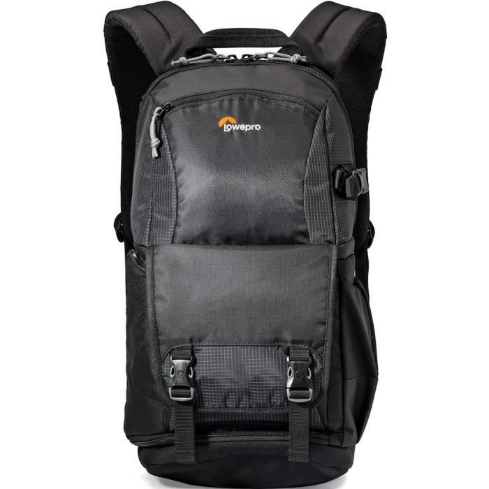 LOWEPRO LP36869-PWW Sac à dos Fastpack BP 250 AW II - Peut contenir 1 reflex et 2 ou 3 objectifs supplémentaires - Noir