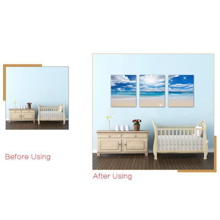 Oeuvre D Art Moderne Toile Des Peintures Murales Décoratives Orchid Rock Imprimer 30cm Lux70505457 1904 Multicolore