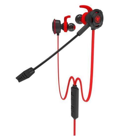 Plextone Pc Gaming Headset Ordinateur Casque Dans L'oreille Stéréo Basse Antibruit Écouteurs Avec Mic Pk Razer Marteau V2 Pro