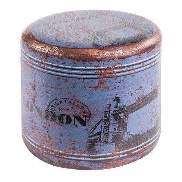 Pouf Londres Fille : Pouf rond vintage londres achat vente poire pvc