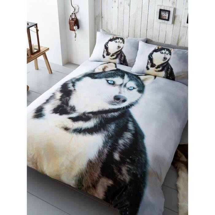 housse de couette chien achat vente housse de couette chien pas cher cdiscount. Black Bedroom Furniture Sets. Home Design Ideas