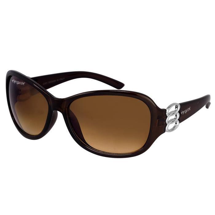 Elegante Oversized Purple Sunglasses (ovszpurple|2|purple) PQ99S