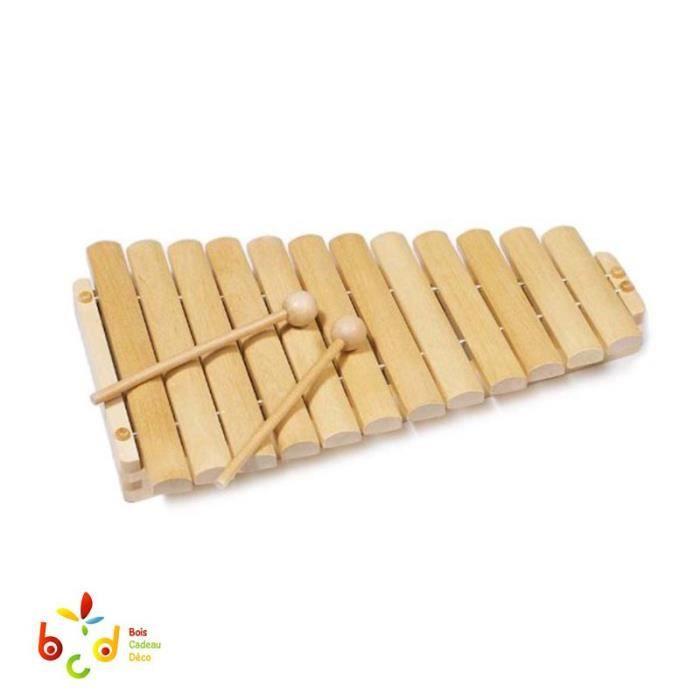 XYLOPHONE GOKI XylopHoneBois- L34,5cm - 12tons - Enboîte