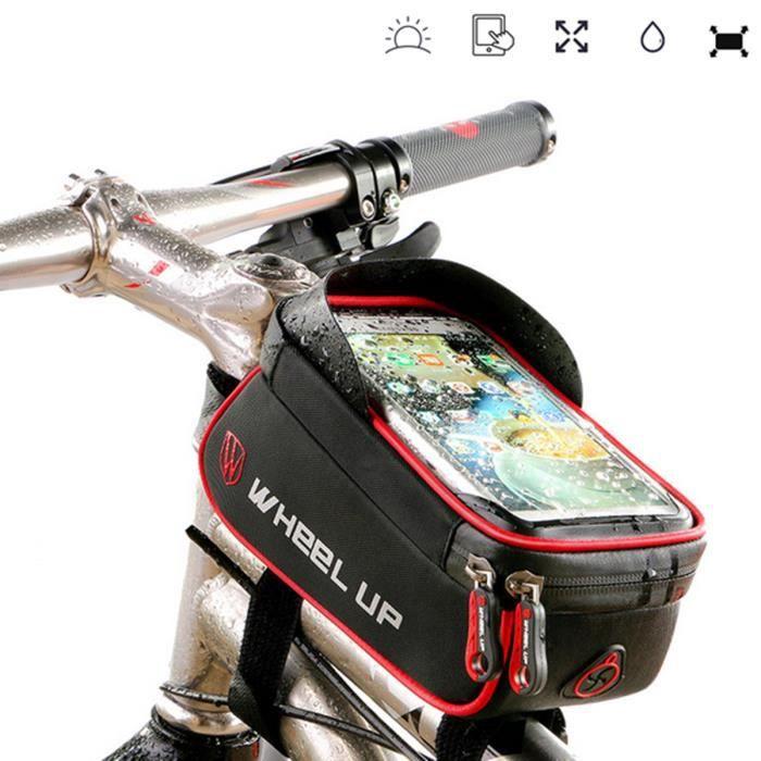 PANIER - SACOCHE VÉLO Sacoche Vélo Pour Smartphone Vélo Avant Selle Rout