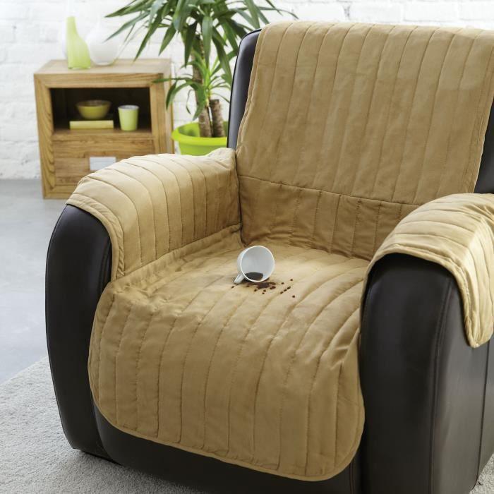 Couvre fauteuil waterproof achat vente housse de for Couvre accoudoir canape