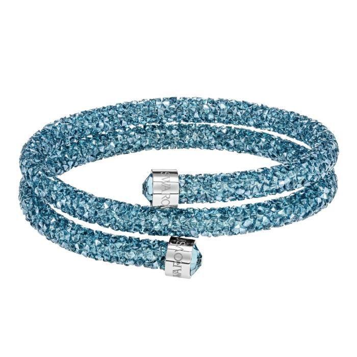 Bracelet Jonc SwarovskiCrystaldust turquoise M