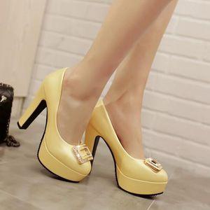Chaussures Femme nouvelle mode sexy douce Soirée Mariage jS7P0xd4J