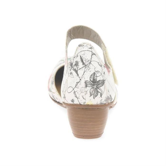 sandales/nu-pieds bouquet femme rieker 43789