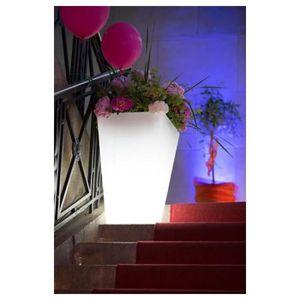 Pot De Fleur Lumineux Blanc Interieur Achat Vente Jeux Et Jouets