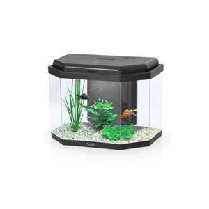AQUARIUM Aquarium New Kidsafe Hexa Aquatlantis noir Noir
