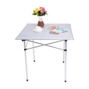 TABLE DE CAMPING Table portable et pliable en aluminium pour campin