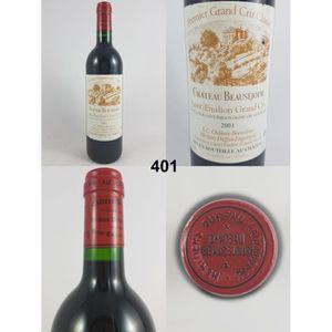 VIN ROUGE Château Beauséjour 2001 - N° : 401, Saint-Emilion,