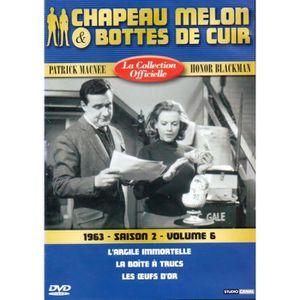 DVD SÉRIE Chapeau melon et bottes de cuir - S2 V6 - 1962 -1