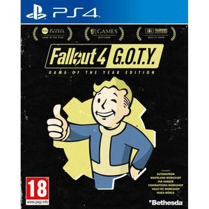 JEU PS4 Fallout 4 GOTY (GAMES OF THE YEAR) Jeu PS4