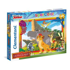 PUZZLE LE ROI LION Puzzle 104 pièces - 48 X 33 cm