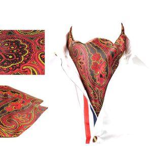 d3347c108a064 ECHARPE - FOULARD Foulard - scarf homme rouge foncé accessoire de co