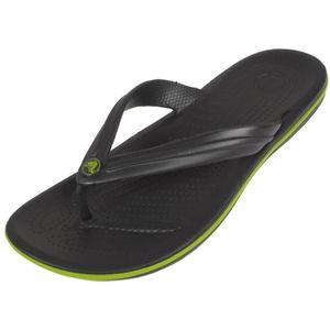 TONG Tongs claquettes Crocband flip graphite - Crocs