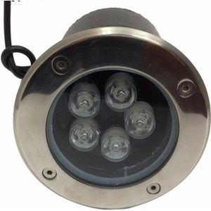 SPOT D'EXTÉRIEUR  Spot Extérieur Encastrable Sol LED 5W IP65 80 Ø130