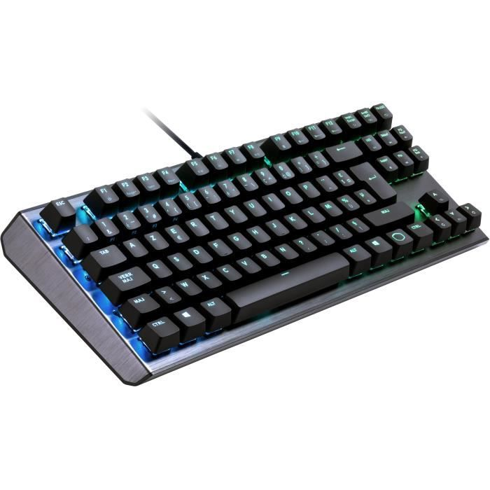 COOLER MASTER Clavier Mécanique Gaming CK530 RGB TKL - AZERTY (PC/Consoles) - Chassis Aluminium
