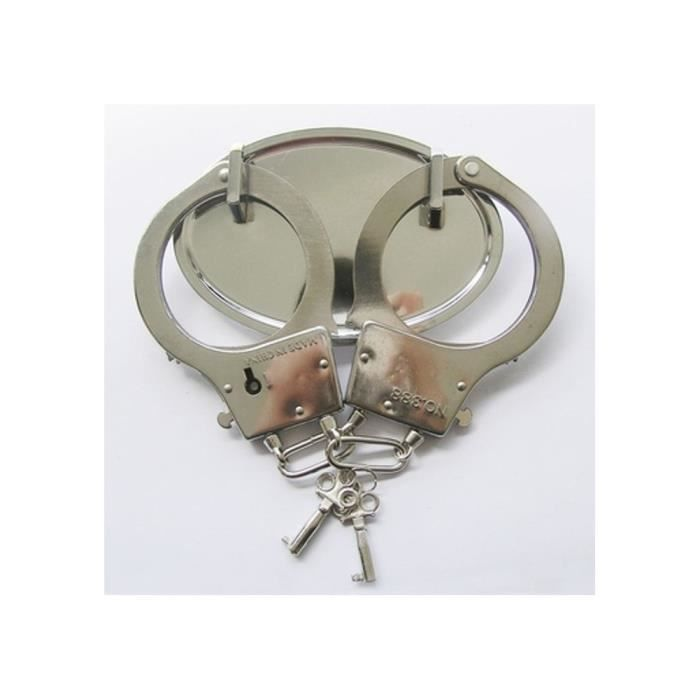 Boucle de ceinture menotte chromé homme femme rocker - Achat   Vente ... da1029bf658