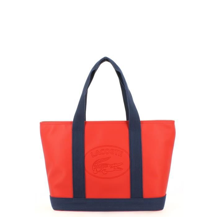 Red Peacoat M Shopping Vente Lacoste Achat Sac vgbyYf76