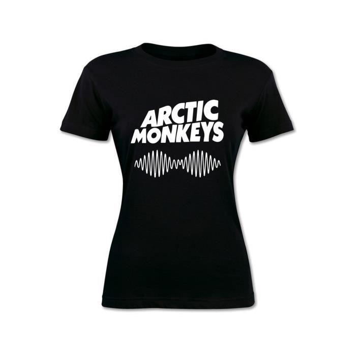 Arctic Femme Shirt T Monkeys Noir Cdiscount Vente Achat PSZa8n