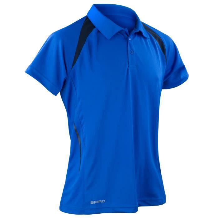 Spiro - Polo sport à manches courtes - Homme Bleu Bleu roi bleu ... ec58f85ea1af