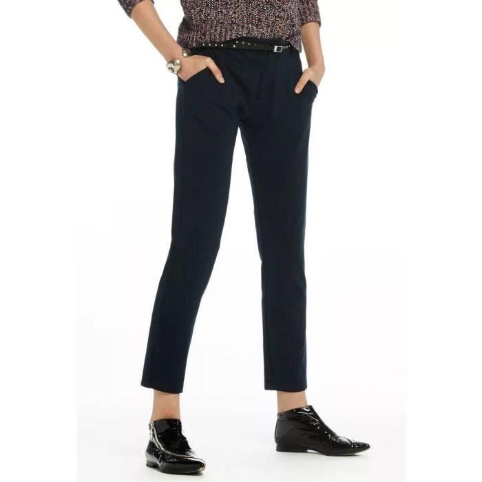 conception de la variété belle et charmante dernière mode PANTALON MAISON SCOTCH. Bleu Bleu - Achat / Vente pantalon ...