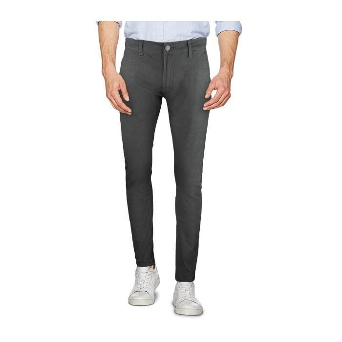 972dae64154b D1130 Pantalon chino pour homme 3-D JEANS modèle AETERNUM tailles du 44 au  54 (Gris - 54)