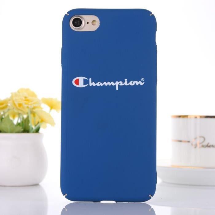 coque iphone 8 plus bleu apple