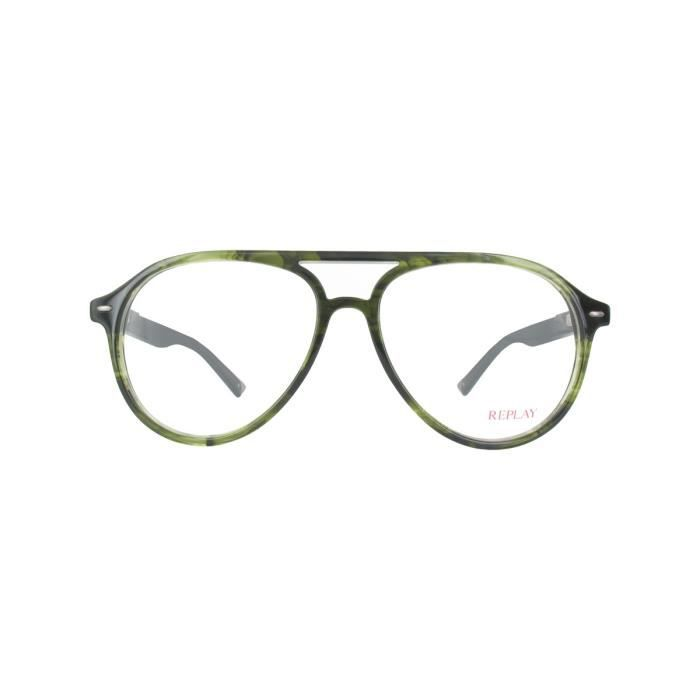 53255f9c6cdda Lunettes de vue homme REPLAY RY006V GREEN - Achat   Vente lunettes ...