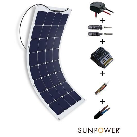 kit paneau solaire 100 watts - achat / vente kit paneau solaire