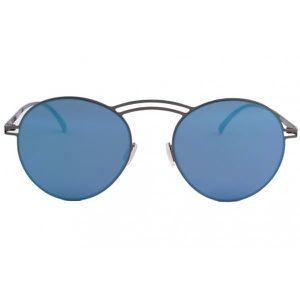 Lunettes De Soleil Miroir Bleu En Aluminium Saky - Mixte HPVXuZLktU