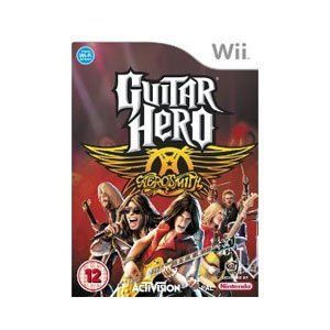 JEUX WII Guitar Hero: Aerosmith - Game Only Wii [import …