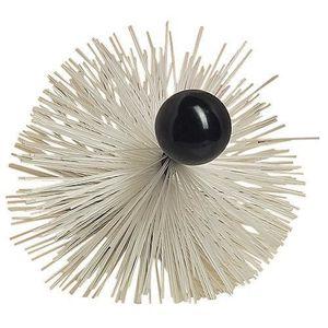 ACCESSOIRES RAMONAGE HERISSON ROND PVC AVEC BOULE BAKELITE/Diam 100 mm