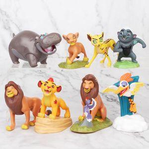 ROBOT - ANIMAL ANIMÉ 8pcs / set dessin animé classique Le Roi Lion Gard