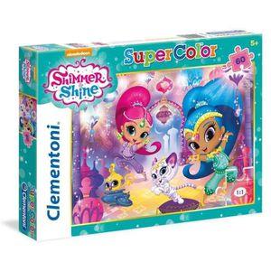 PUZZLE SHIMMER & SHINE Puzzle 60 Pièces Clementoni